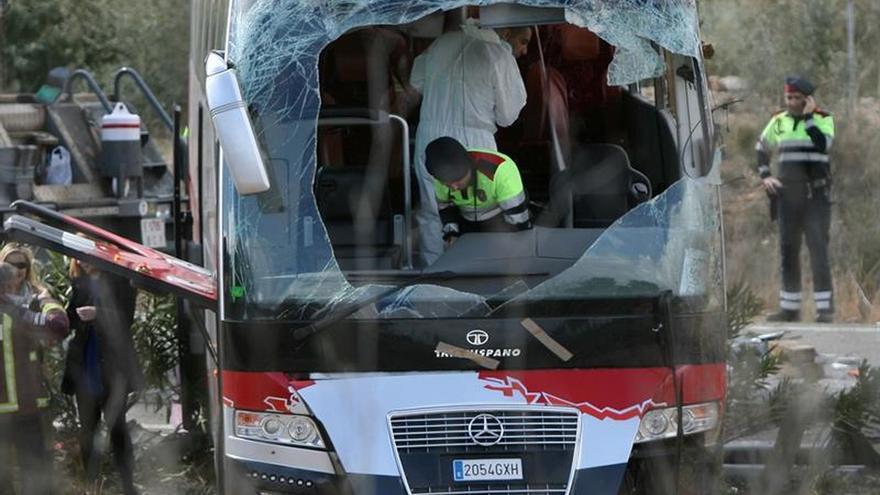 Declara ante el juez el propietario del autocar accidentado en Freginals