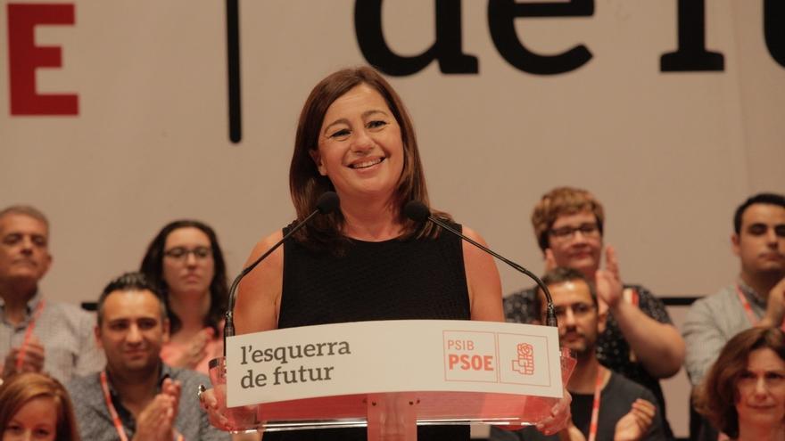 Francina Armengol es ratificada como secretaria general del PSIB en el 13º Congreso regional