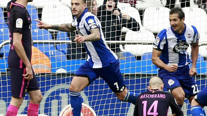 El Deportivo sumó tres puntos de oro en su lucha por la salvación