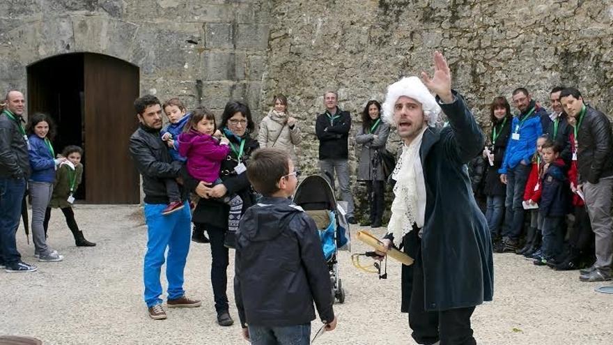 Más de 3.300 personas visitan el Centro de Interpretación de las Fortificaciones de Pamplona en lo que va de año