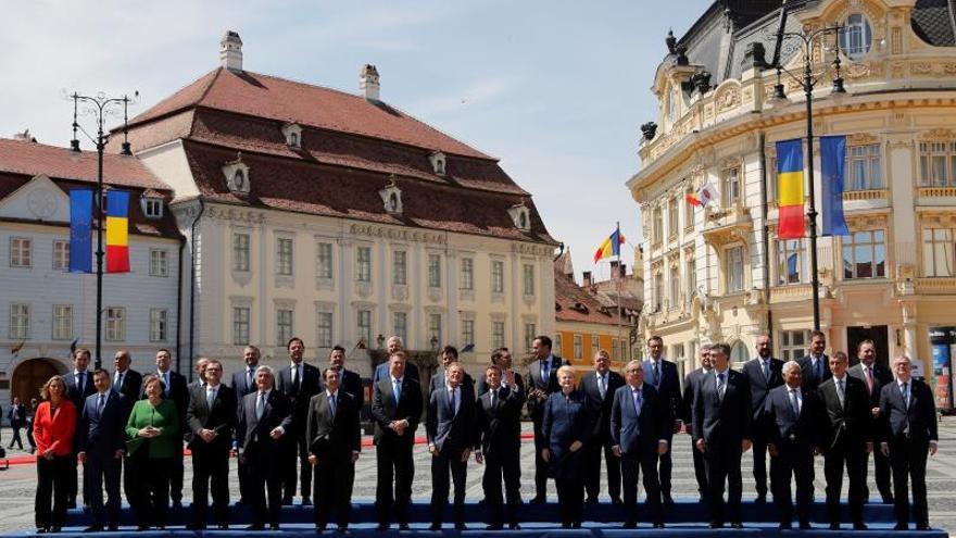 Los líderes de los Veintisiete celebran una cumbre informal en Sibiu