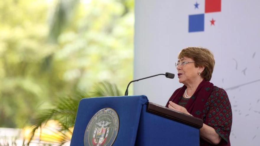 Bachelet advierte de los retrocesos en el acuerdo político de los derechos humanos