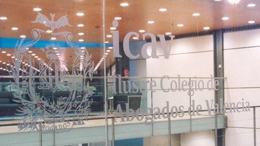 La sede del Colegio de Abogados de Valencia