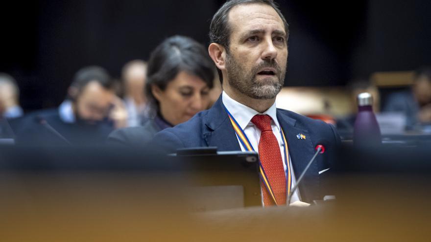 El europarlamentario de Ciudadanos José Ramón Bauzá.