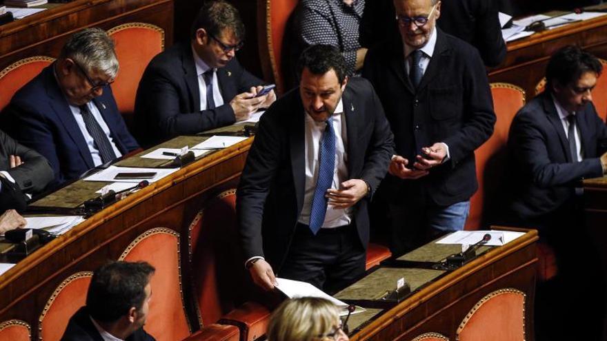 El Senado italiano vota si permitir el juicio a Salvini por su política migratoria