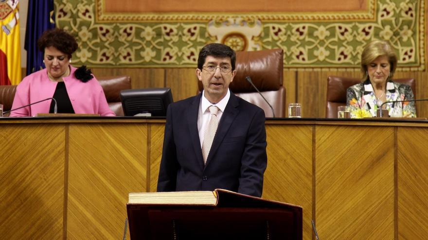 Albert Rivera (C's) propone a Juan Marín como nuevo miembro de la Ejecutiva nacional