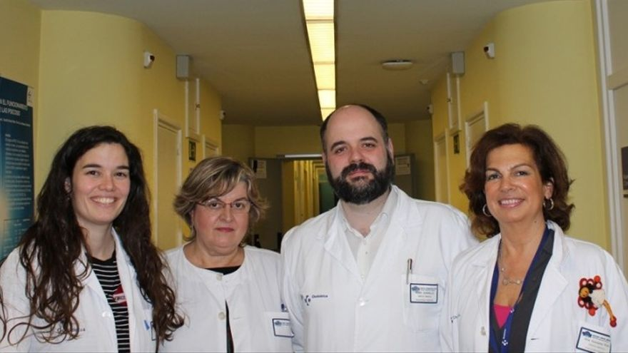 Iñaki Zorrilla, Ana González-Pinto, Purificación López y Saioa López Zurbano/ Foto: Osaraba