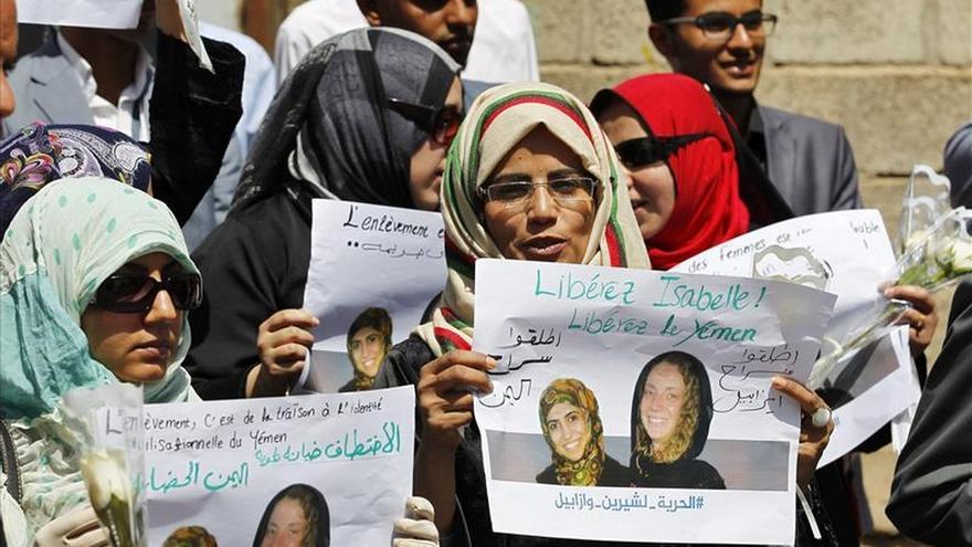 Una francesa secuestrada en el Yemen pide en un vídeo ayuda a Hollande