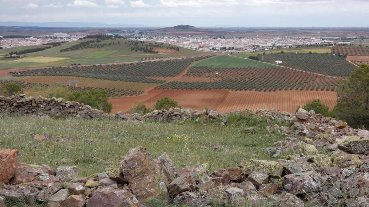 'Cerro de la cocinilla' en Valdepeñas, Ciudad Real