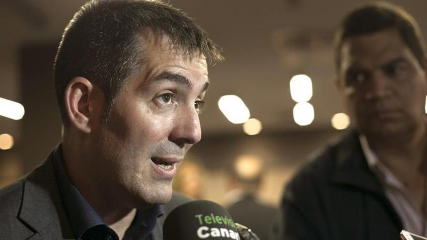 El candidato de CC al Gobierno de Canarias, Fernando Clavijo . EFE/Ángel Medina G.