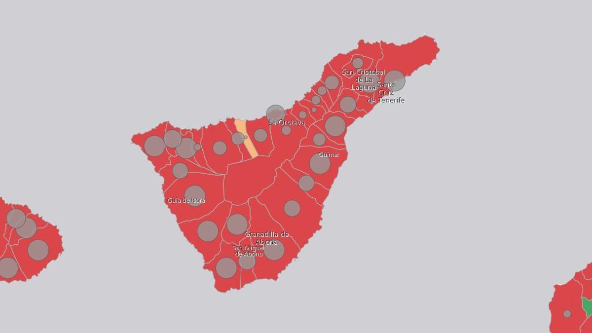 Incidencia en Tenerife