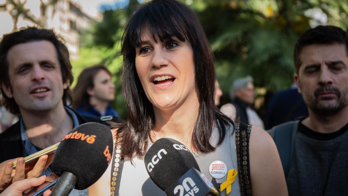 La diputada de Junts Aurora Madaula, en una foto de archivo