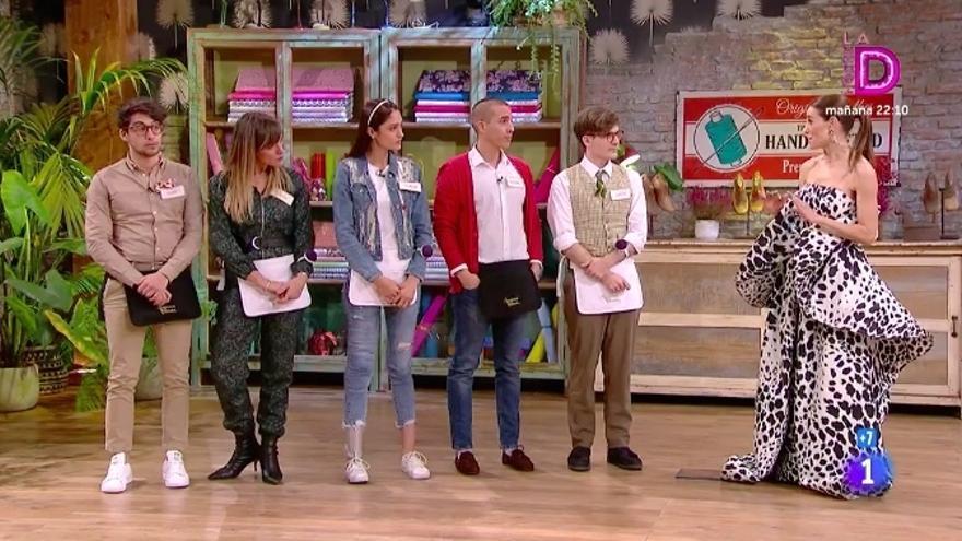 Lluís, Laura, Yelimar, Gabriel y Ancor, semifinalistas de 'Maestros de la costura 4'