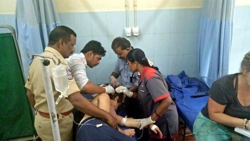 Hoy regresan a España seis supervivientes del accidente en la India