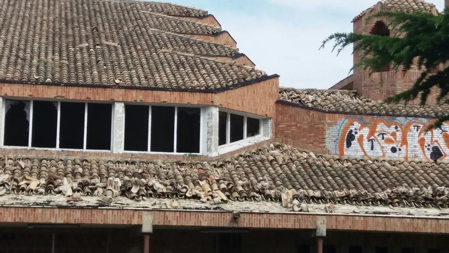 """UPN critica el """"estado de abandono"""" del convento de las Agustinas de San Pedro en Aranzadi"""