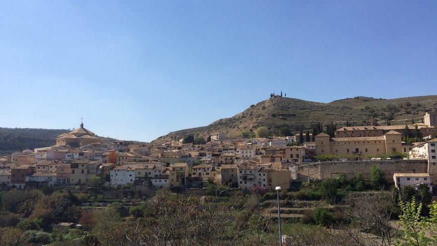 Vista del casco histórico de Pastrana, en la Alcarria FOTO: Raquel Gamo