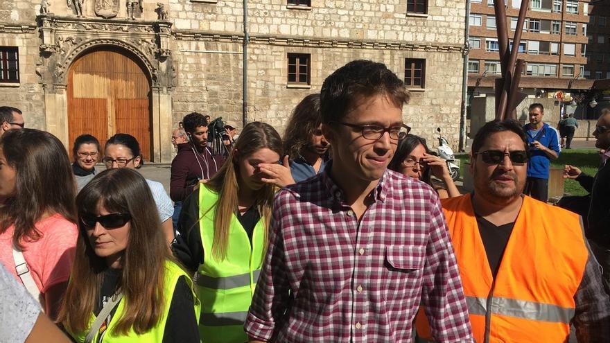"""Errejón: """"Sólo un acuerdo del PSOE con Podemos salvará a España de las terceras elecciones"""""""