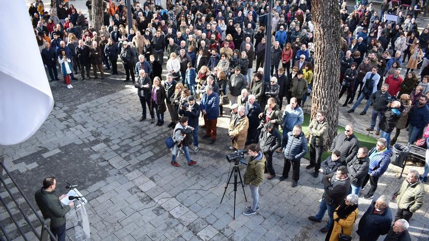 Centenares de personas salen a la calle para pedir un trasvase de urgencia para las Tablas de Daimiel