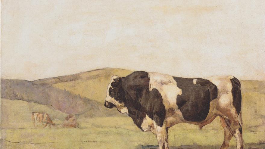 Ferdinand Hodler | El toro (1878).