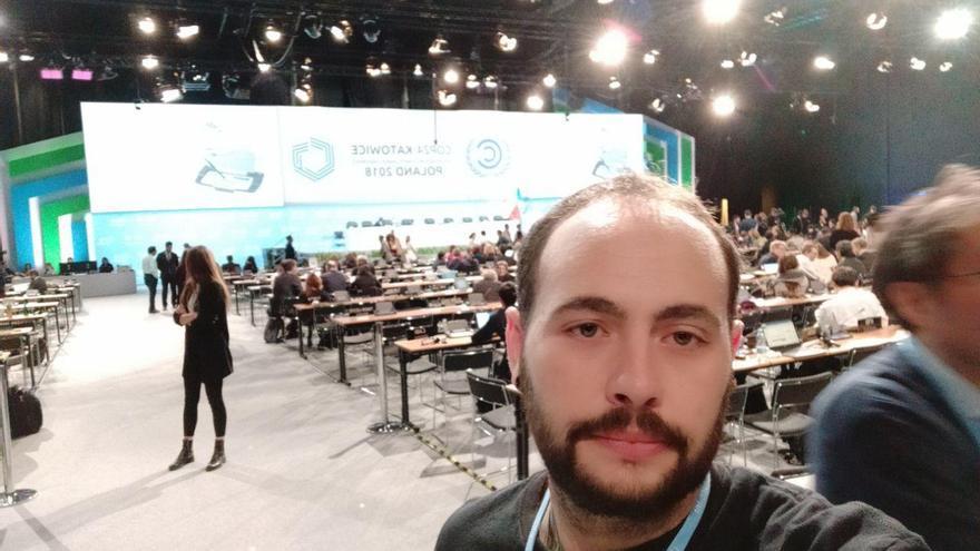 Javier Andaluz Prieto, coordinador estatal de Energía y Clima de Ecologistas en Acción