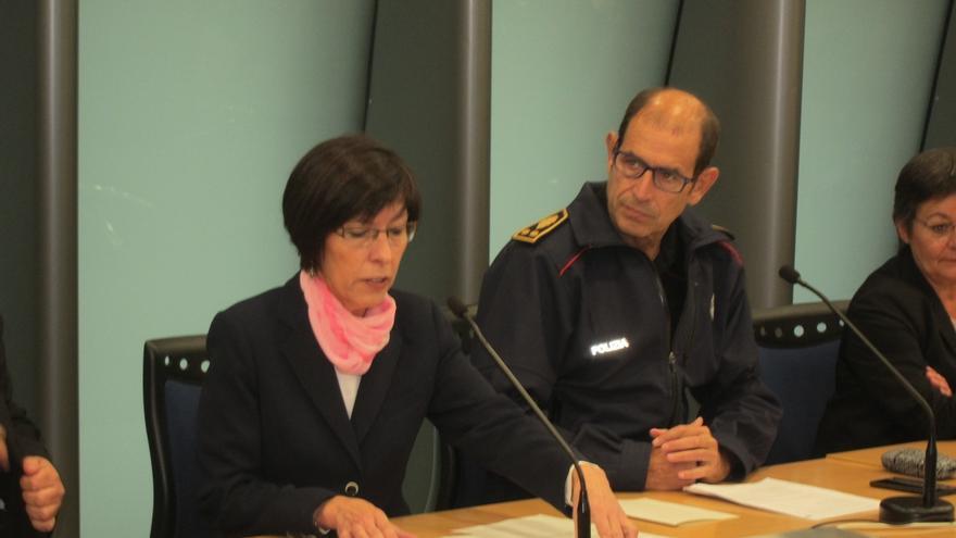 """Beltrán de Heredia responde a ErNE que la Ertzaintza cuenta con protocolos """"inimaginables"""" ante la amenaza yihadista"""