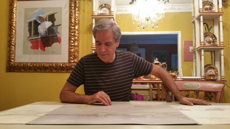 Luis Morera tiene múltiples proyectos para la Isla. Foto: LUZ RODRÍGUEZ.
