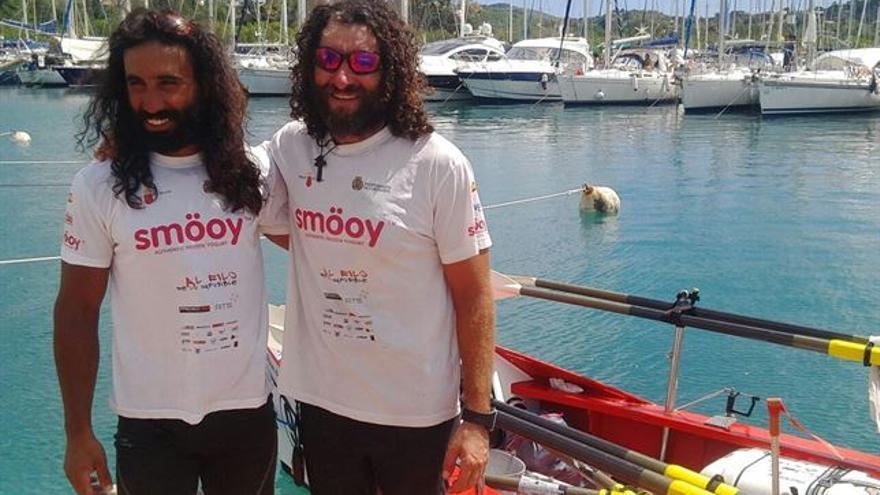 Los dos aventureros en Martinica