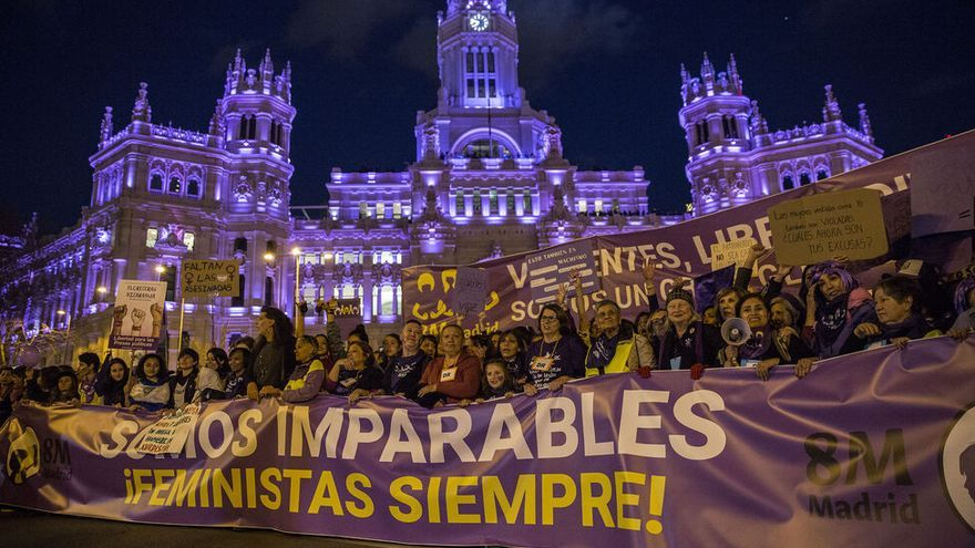 Imparables. Manifestación del 8M 2019. Madrid. OLMO CALVO