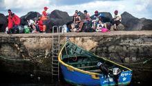 La llegada de migrantes en patera a Canarias se triplicó en 2018