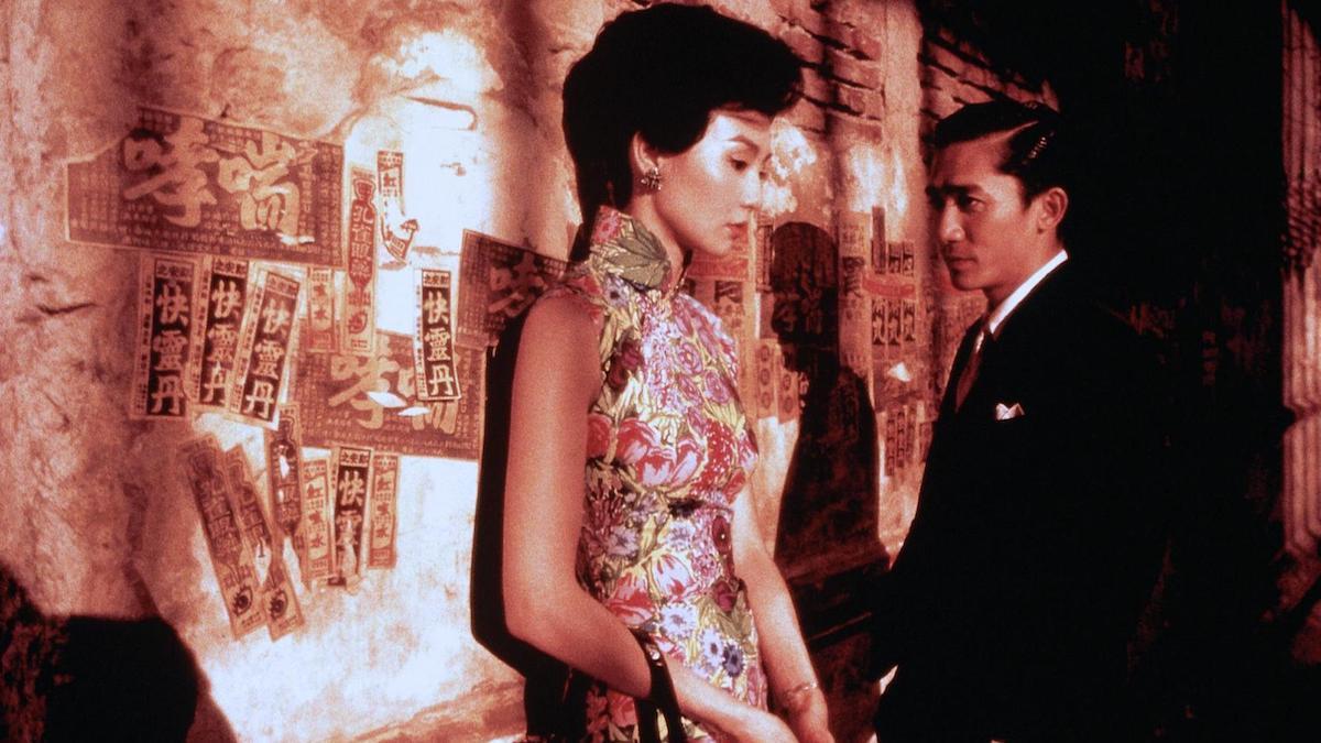 Un fotograma de 'Deseando amar', de Wong Kar Wai.