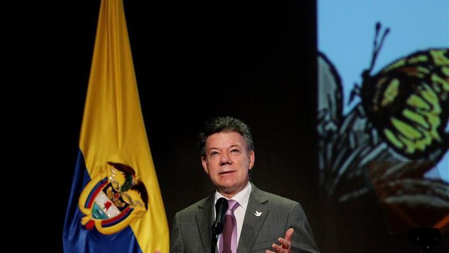 El presidente de Colombia dice que falta camino por recorrer contra la pobreza