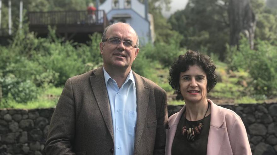 Jovita Monterrey y Anselmo Pestana.