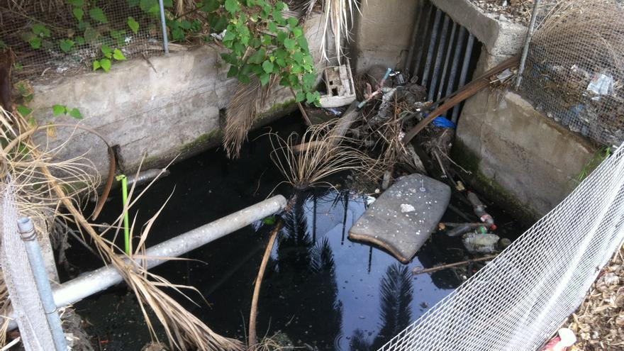 Vertido de aguas fecales en la Paterna