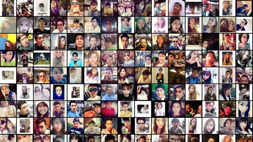 Selfiecity fue un estudio sociológico de los 'selfies'