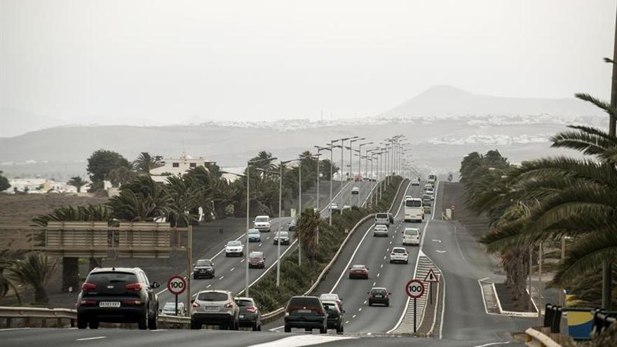 Calima en Lanzarote