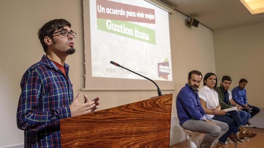 Elkarrekin propone una Euskadi cosoberana en una España confederal o federal