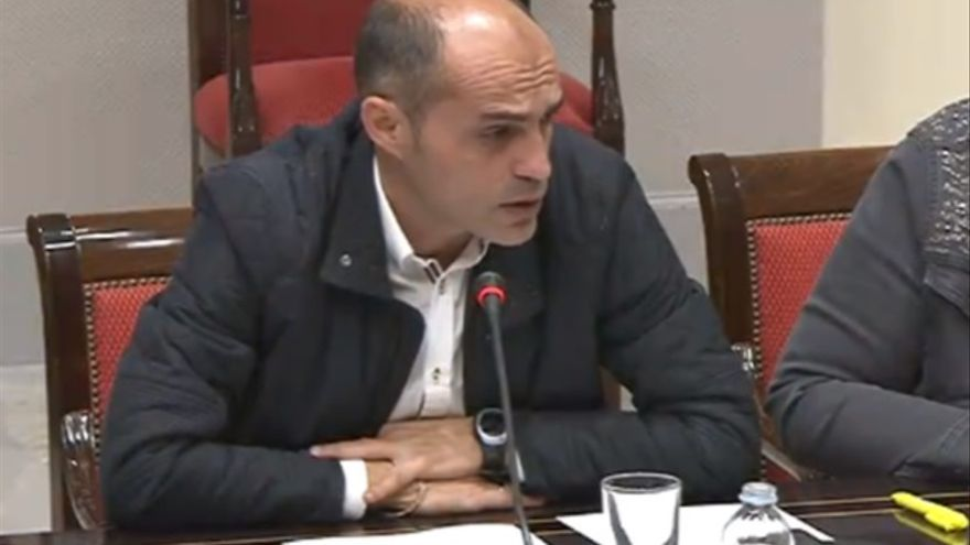 David Cabrera, diputado herreño