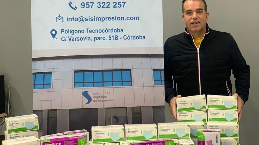 Ángel Sánchez, propietario de Soluciones Digitales de Impresión.
