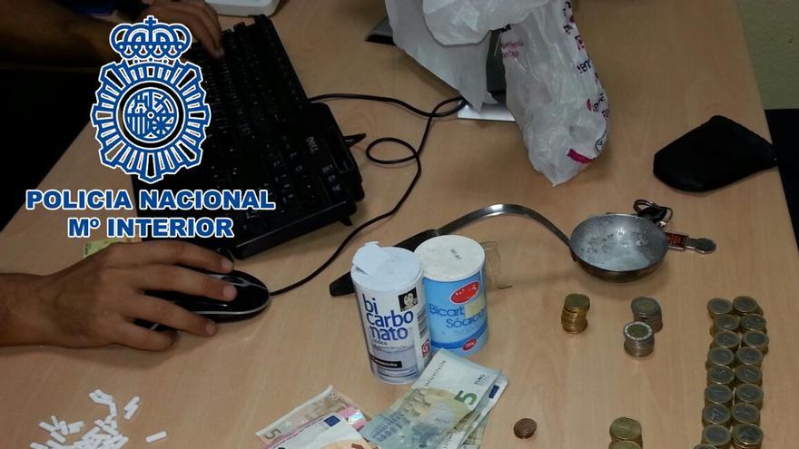 Un detenido en el barrio de San José de la capital grancanaria por tráfico de drogas (POLICÍA)