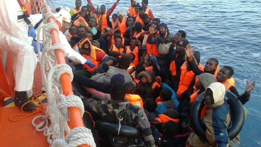 Rescatados 6.099 inmigrantes en las costas andaluzas en lo que va de año, casi el doble que en todo 2015