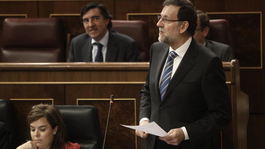 AMPL-Rajoy anuncia que acudirá a los tribunales si la Generalitat va en contra de los intereses de España en el exterior