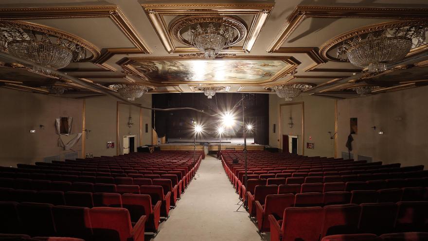 Interior del Teatro Albéniz