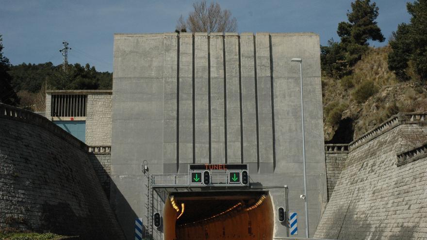 Túnel I de Guadarrama en la actualidad. / Foto: Abertis