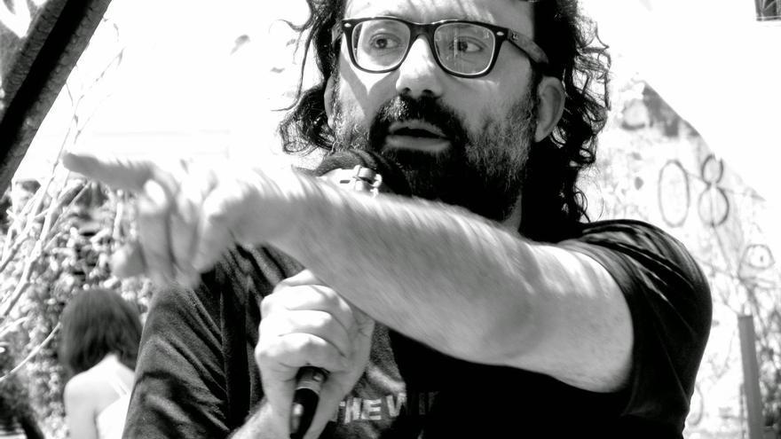 David García Aristegui, autor de 'Por qué Marx no habló de Copyright' | Foto: @RadioGuerrilla_