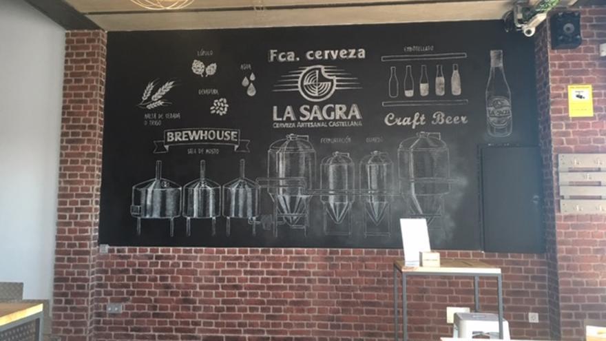 Taproom de cervezas La Sagra