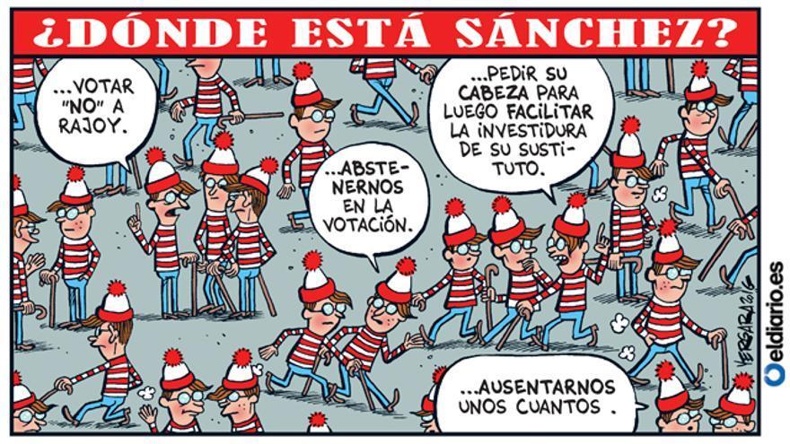 ¿Dónde está Sánchez?
