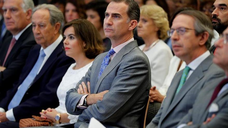 Felipe VI entrega el próximo lunes los Premios Rey de España de Periodismo