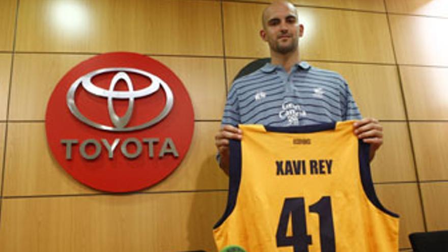 Xavi Rey lucirá el número 41 en su camiseta del 'Granca'. (CB GRAN CANARIA)