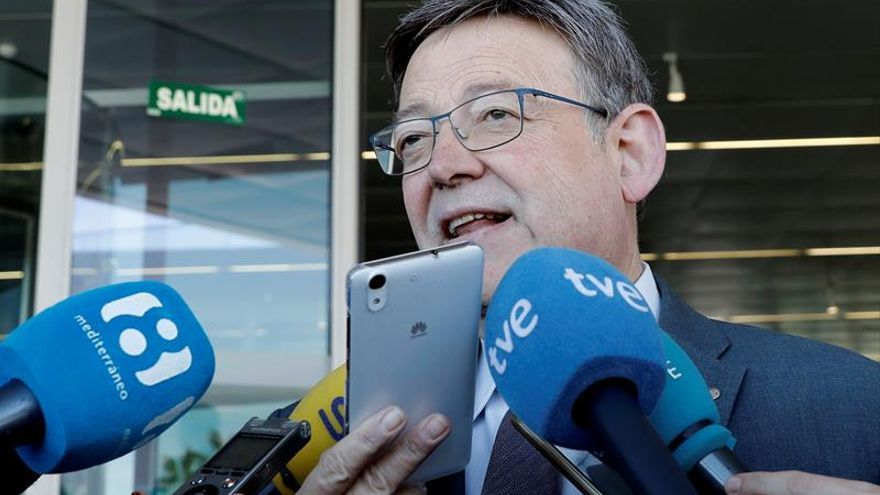 """Ximo Puig sobre Colau y el PSC: """"Actuar de forma partidista no es lo mejor"""""""