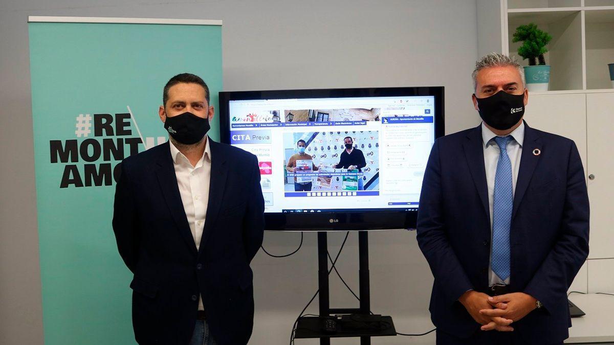 Acuerdo entre Eprinsa y el Ayuntamiento de Montilla.